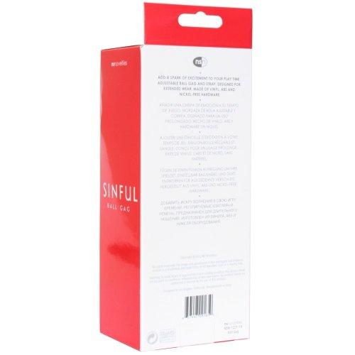 Sinful Ball Gag - Pink 10 Product Image