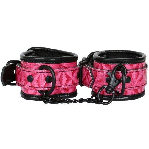 Sinful Wrist Cuffs - Pink 1 Product Image