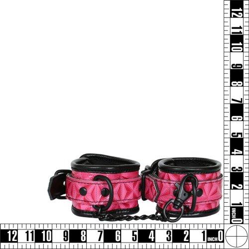 Sinful Wrist Cuffs - Pink 8 Product Image