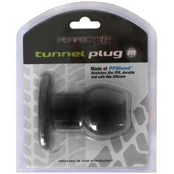 Perfect Fit: Tunnel Plug Medium - Black 9 Product Image