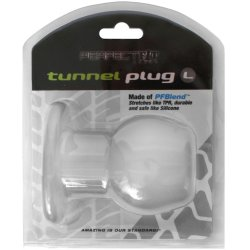 Perfect Fit: Tunnel Plug Large - Clear 9 Product Image