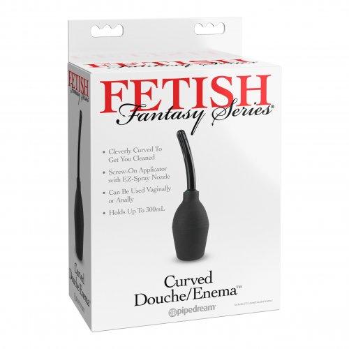 Fetish Fantasy Curved Douche/Enema 8 Product Image
