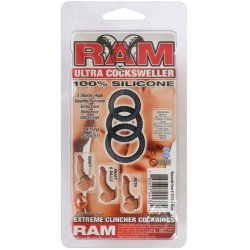 Ram Ultra Cocksweller - Black 3 pack 9 Product Image