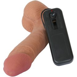 Cyberskin Vibrating Cyber Cock with Balls 5 Product Image