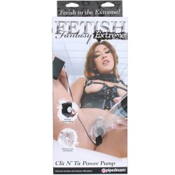 Fetish Fantasy Extreme Clit N' Tit Power Pump 1 Product Image