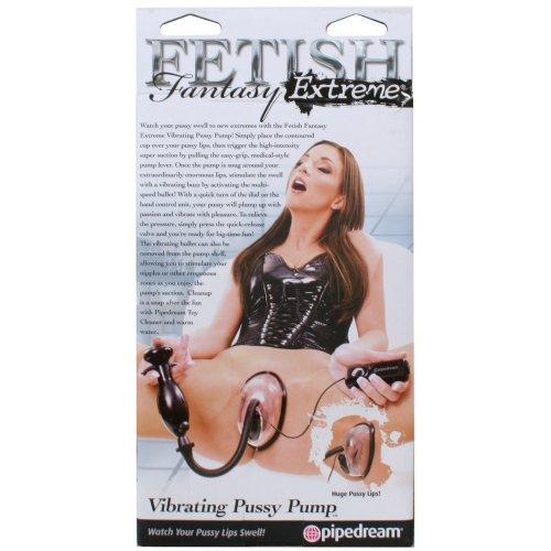 Fetish Fantasy Extreme Vibrating Pussy Pump 8 Product Image