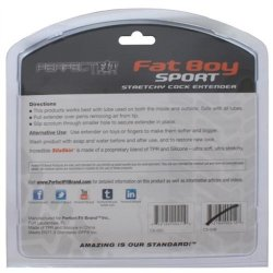 "Perfect Fit: Fat Boy Sport Extender - 6.5"" Clear 13 Product Image"
