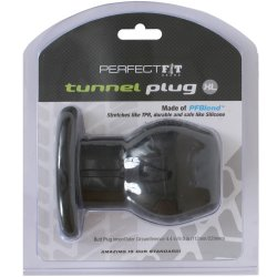Perfect Fit: Tunnel Plug XL - Black 9 Product Image