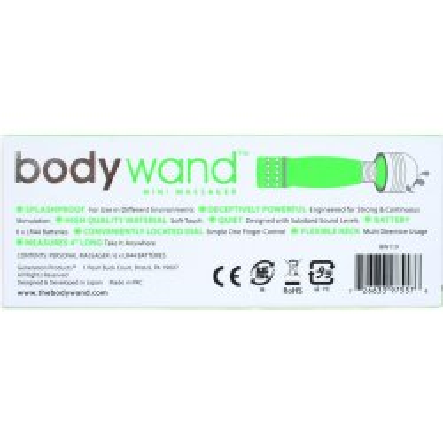 Bodywand Mini - Neon Green 6 Product Image