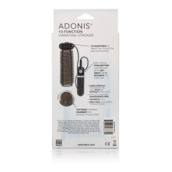 Adonis 10 Function Vibrating Stroker - Black 6 Product Image