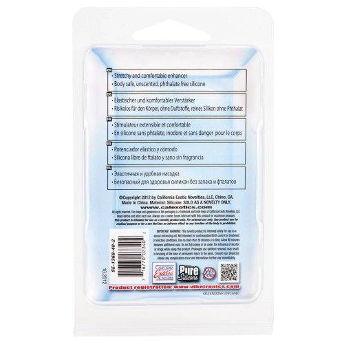 Adonis Silicone Reversible Silicone Enhancer - Black 6 Product Image