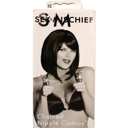 Sex & Mischief: Chained Nipple Clamps 5 Product Image