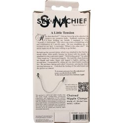 Sex & Mischief: Chained Nipple Clamps 7 Product Image