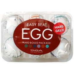Tenga Easy Beat Egg 6 Pack - Hard Boiled 1 Product Image