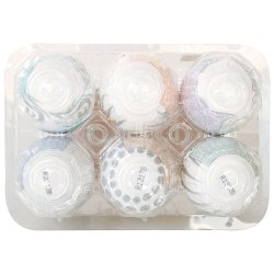 Tenga Easy Beat Egg 6 Pack - Hard Boiled 6 Product Image