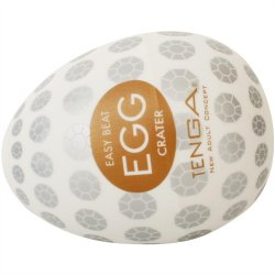 Tenga Easy Beat Egg - Crater 6 Product Image