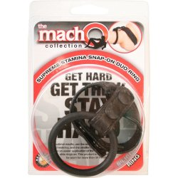 Macho: Supreme Stamina Snap-On Duo Ring 6 Product Image