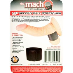 "Macho: 1.5"" Velcro Ball Stretcher 7 Product Image"