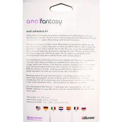 Anal Fantasy: Silicone Adventure Kit 8 Product Image