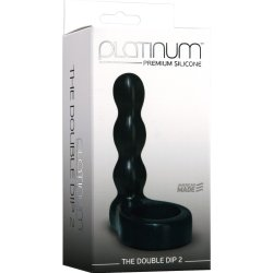 Platinum Silicone: The Double Dip 2 - Black 7 Product Image