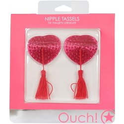 Ouch! Nipple Tassels - Pink Hearts 2 Product Image