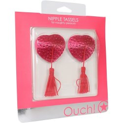 Ouch! Nipple Tassels - Pink Hearts 3 Product Image