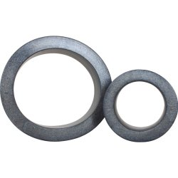 Platinum Silicone: The C Rings Double Pack - Charcoal 2 Product Image