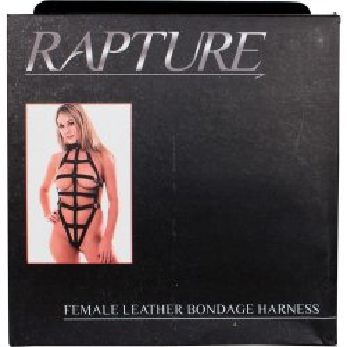 Rapture: Female Leather Bondage Harness 5 Product Image