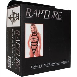Rapture: Female Leather Bondage Harness 6 Product Image