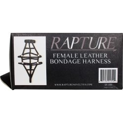 Rapture: Female Leather Bondage Harness 7 Product Image
