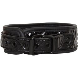 Sinful Collar & Leash - Black 3 Product Image