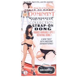 Dominant Submissive: Strap-On Ribbed Rotating Dong 2 Product Image