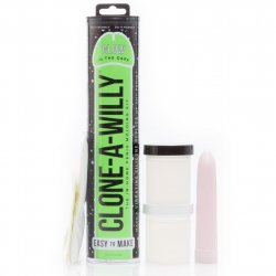 Clone-A-Willy Kit - Vibrating - Glow In The Dark Product Image