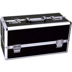 Lockable Sex Toy Storage Case - Black - Large Product Image