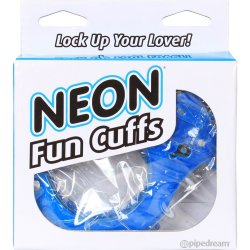 Neon Fun Cuffs - Blue 2 Product Image