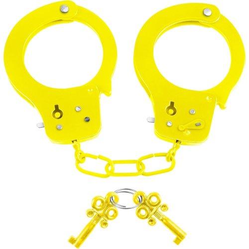 Neon Fun Cuffs - Yellow 1 Product Image