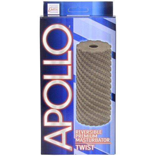 Apollo: Reversible Masturbator - Twist - Grey 2 Product Image