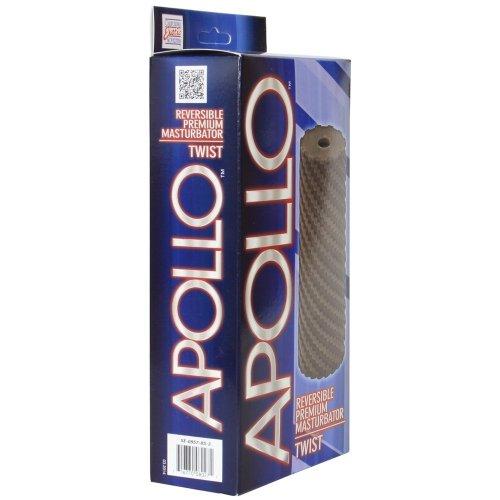 Apollo: Reversible Masturbator - Twist - Grey 3 Product Image