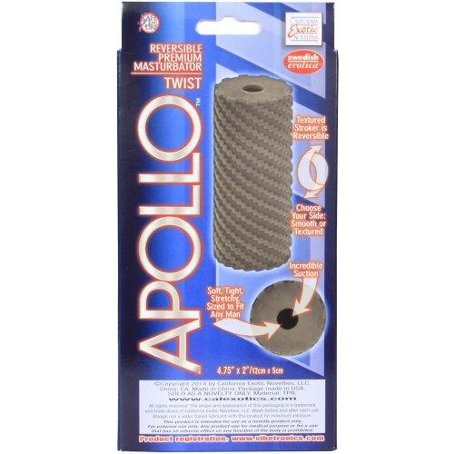 Apollo: Reversible Masturbator - Twist - Grey 4 Product Image