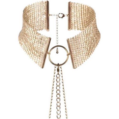 Bijoux Indiscrets: Desir Metallique Collar - Gold 1 Product Image