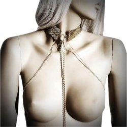 Bijoux Indiscrets: Desir Metallique Collar - Gold 3 Product Image