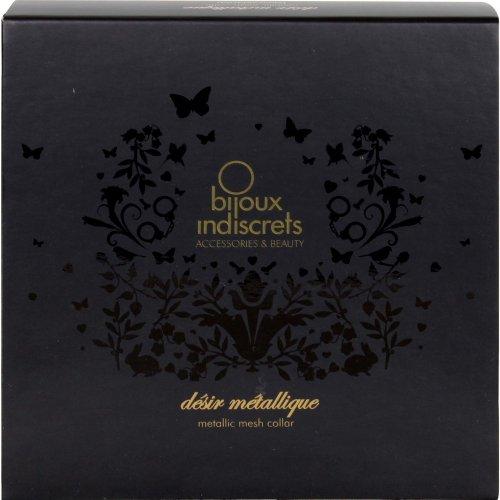 Bijoux Indiscrets: Desir Metallique Collar - Gold 4 Product Image