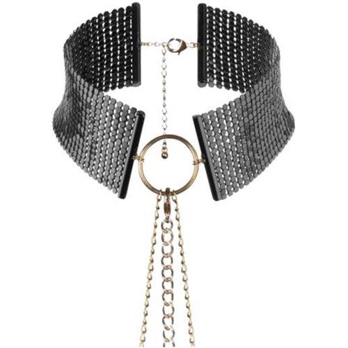 Bijoux Indiscrets: Desir Metallique Collar - Black 1 Product Image