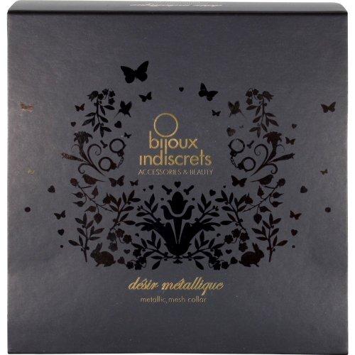 Bijoux Indiscrets: Desir Metallique Collar - Black 4 Product Image