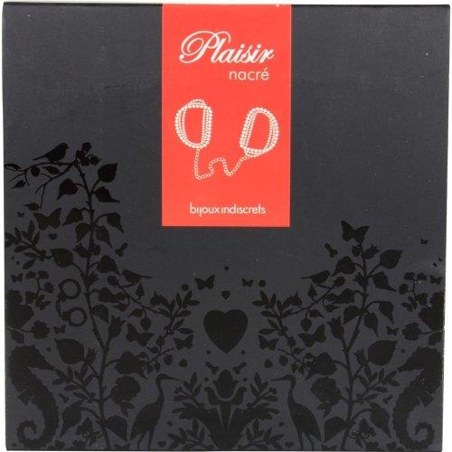 Bijoux Indiscrets: Plaisir Nacre Handcuffs - Black 3 Product Image