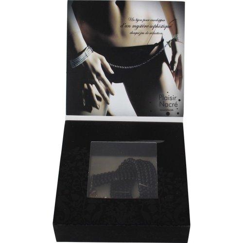 Bijoux Indiscrets: Plaisir Nacre Handcuffs - Black 5 Product Image