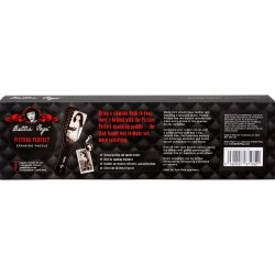 Bettie Page Picture Perfect Spanking Paddle - Black 8 Product Image