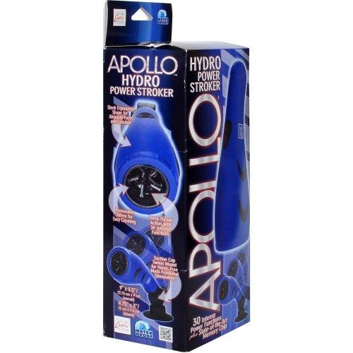 Apollo: Hydro Power Stroker Masturbator - Blue 7 Product Image