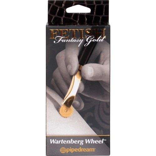 Fetish Fantasy Wartenberg Wheel - Black And Gold 5 Product Image