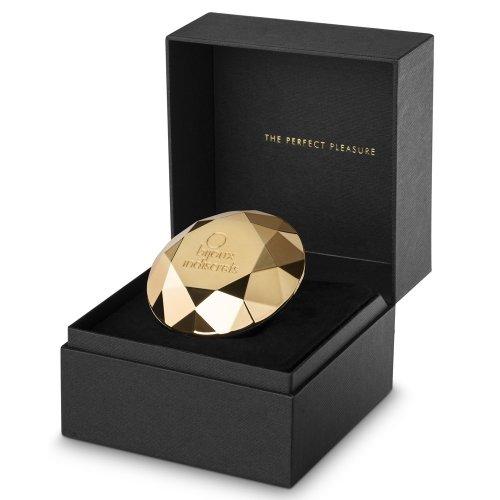 Bijoux Indiscrets: Twenty One Vibrating Diamond - Gold 1 Product Image